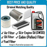 AIR OIL FUEL CABIN FILTERS  AND 5L ENGINE OIL FOR  FOR PEUGEOT OEM QUALITY 2221