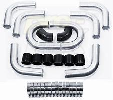 "3"" Universal Aluminum Piping Kit, Mandrel Bent, Polished, 2.0mm Thickness Tube"