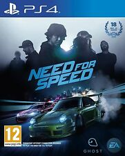 Need For Speed PS4 Playstation 4 MINT- 1st Class Delivery