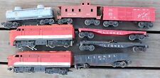 Lionel Lines Railroad Train Lot The Texas Special 210 Gulf 6465 Diesel Switcher
