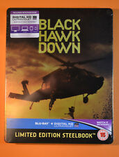Black Hawk Down Steelbook Bluray UK Edition New & Sealed