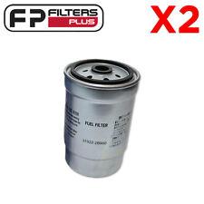 2 x WCF129 Wesfil Fuel Filter - Hyundai CRD i30, i40, Kia CRD - 319222B900