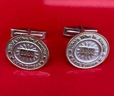 Rare ! Tiffany & Co. 925 Sterling Silver Cufflinks