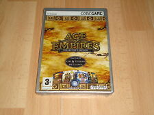 AGE OF EMPIRES COLLECTOR'S EDITION INCLUYE 4 TITULOS DE LA SAGA PARA PC NUEVO
