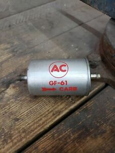 NOS 1966 Chevrolet Chevy Corvette Chevelle 327 SS Chevy 2 AC Fuel Filter GF61 GM