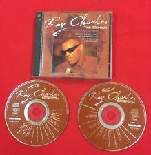 RAY CHARLES THE GENIUS 1993 ARCADE 302596 MADE IN FRANCE BON ÉTAT 2X CD