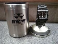 Reactor Watch with original drink can holder box, And Fast Free shipping.