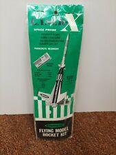 Centuri Laser X Vintage Flying Model Rocket Kit NIP SEALED!