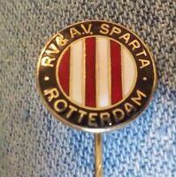 R V & A V Sparta Rotterdam lapel stick pin pre-owned Netherlands