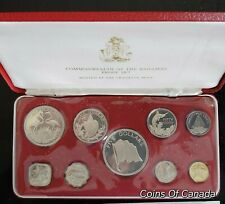 1974 Bahamas Proof Sterling Silver Coin Set - Combine Shipping #coinsofcanada