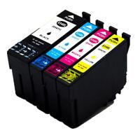 4x Tintenpatronen für Epson 34 34xl Für Epson wf-3720dwf, wf-3725dwf Drucker