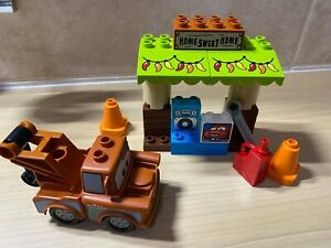 Lego Duplo 10856 Mater's Shed & Pick up truck from Disney Cars 3 Full Set VGC