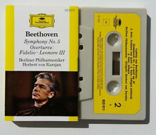 Musicassetta BEETHOVEN Symphony No 5 Karajan Mc Musik Cassette Tape No CD