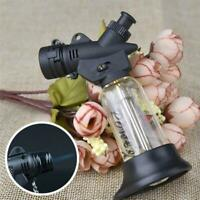 For Outdoor BBQ Survival Lighter Butane Jet Spray Cigarette CL No Lighter N1Z4