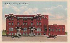Y.M.C.A. Building in Emporia KS Postcard