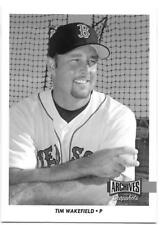 TIM WAKEFIELD 2017 Topps Archives Snapshots SP Black & White Parallel RED SOX