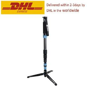 SIRUI P-424SR Carbon Fiber Photo/Video Professional Travel Portable Monopod