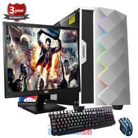 Ryzen 7 3700x Gaming PC Bundle,SSD, 23.6'' Screen, RTX 2060 6GB,Windows 10 gp12