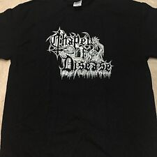CHAPEL OF DISEASE Death Evoked T-SHIRT SIZE: EXTRA LARGE