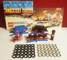 Lego, Eisenbahn, 60 Stück Haftreifen,30x schwarz+ 30x grau 12V/4,5V,Train, Motor