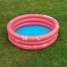 Kinder Planschbecken Feen Design Pool rund 102 cm Swimmingpool Schwimmbecken