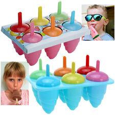 Kids Hielo Lolly Home Made Partido tratar Lollies Molde Maker Bandeja congeladora verano divertido