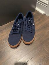 Men��s DC Anvil Shoes Size 10 Never Worn Outside Navy Color