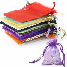 Many Colors 100pcs Mini Organza Bags Favor Wedding Christmas Gift Jewelry Bag