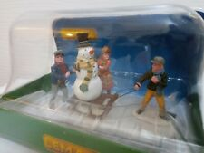 LEMAX SNOW SCENE FIGURINE TABLE DECORATION/ CHRISTMAS