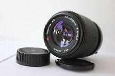 Minolta MD Mount Tokina 70-210mm f4.5-5.6 Telephoto Zoom Lens & Macro X300 X700