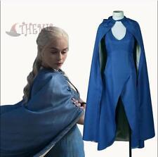 Game of Thrones Daenerys Targaryen Disfraz Mujer Halloween Cosplay Traje