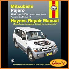 68766 Haynes Mitsubishi Pajero (1997 - 2014) (Australian) Workshop Manual