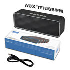 Loud Portable Wireless Bluetooth Speaker Car Outdoor Shockproof Stereo Bass USB