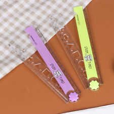 30CM cute study time folding ruler multifunction DIY drawing for stationery O MO
