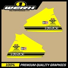 SUZUKI RM250 RM400 1979-80 EVO MX DECALS TANK GRAPHICS STICKERS DECOSTER