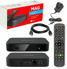 Genuine MAG 420 Original Infomir MAG420 4K IPTV Set TOP Box Multimedia Player TV