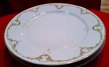 "3 Vintage Rosenthale Dinner Plates - 10"" - Bavaria"