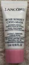 NEW Lancome Rose Sorbet Cryo-Mask Pore-Tightening Smoothing Cooling Mask .16 oz