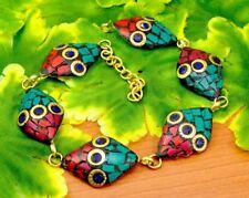 Nepal Fashion Banjara Multi Brass Tibetan Designer Jewelry Bracelet BTB618