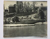 India Vintage 50's Photograph KASHMIR 12in x 10in (2)