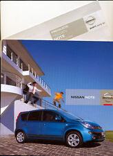 Nissan - Note  - Prospekt/Preisliste - Deutsch - 07/06  -  nl-Versandhandel