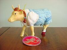 COW PARADE Collection Figurine DOROTHY COW Wizard Of Oz 2002 Retired #7241