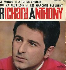 "Richard ANTHONY ""Ce monde"" (Vinyle 45t / SP)"