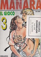 IL GIOCO 3: di Milo Manara - Volume con storia COMPLETA  in OFFERTA!!!!!!