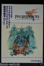 FINAL FANTASY Tactics Advance First Guide book