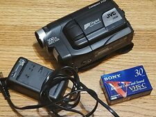 jvc compact vhs camcorder Model Gr-axm225u With BlankTape Charger&Battery Tested