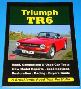 TRIUMPH TR6 - Brooklands Road Test Portfolio - softback book