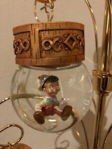 Disney snow globe tree replacement ornament globe Pinocchio puppet boy