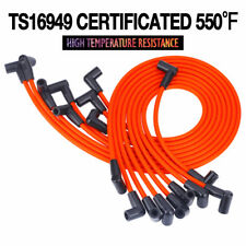 8mm Spark Plug Wires Sets Ignition for V8 5.0L 5.7L Chevrolet AM General Isuzu