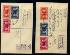 Niue and Cook Islands 2 1937 coronation covers